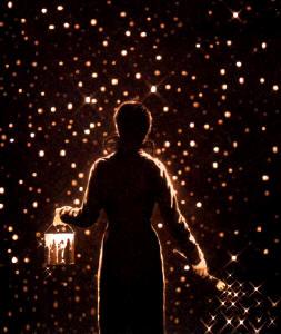 As estrelas se escondem durante o dia e brilham à noite