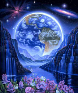 Voando fora do corpo pelas Esferas Espirituais