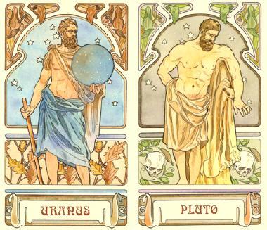 Mudança, expansão e crescimento: Urano/Plutão