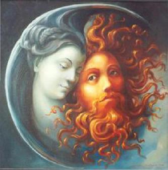 A união do Sol e da Lua ou as bodas da água e do fogo