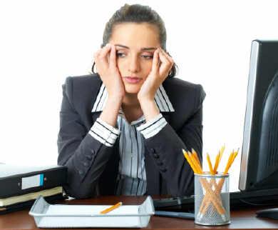 La infelicidad en el trabajo