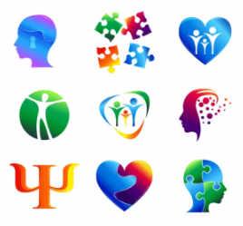 Como usar símbolos e cores em seu logotipo