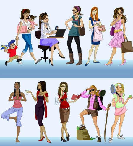 Que tipo de mulher você é: autêntica, oculta ou insegura?