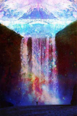Quando as Colunas Luminosas Cantam Espiritualmente no Coração