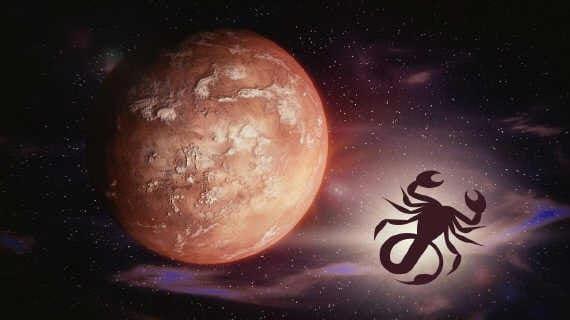 Do que você tem medo? Marte ingressou em Escorpião!