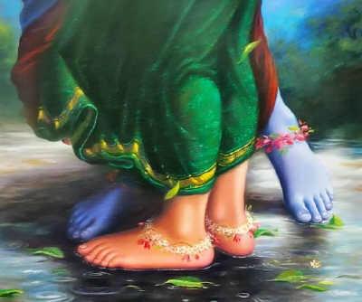Quando Alguém Voa na Luz de Krishna de Volta para o Lar