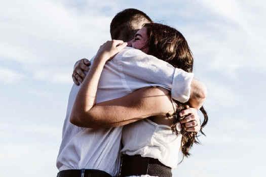 Um abraço para sempre...