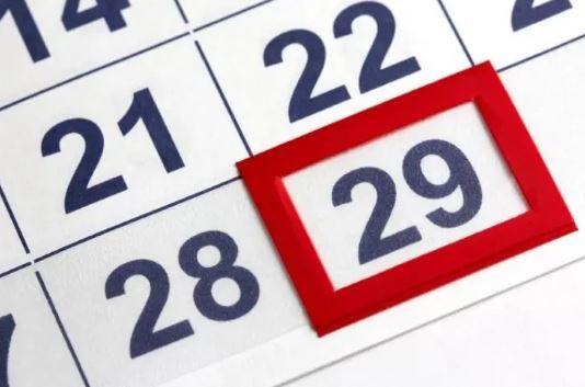 29 Fevereiro 2020 - Ano bissexto