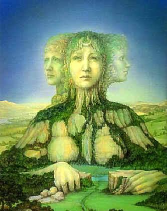 Existem deusas jovens e deusas velhas dentro de cada uma de nós?