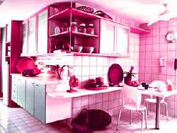 A boa energia de uma cozinha