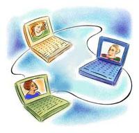 Os internautas visitam o mundo paralelo